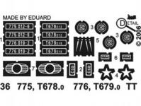 Detail 36 doplňky T678.012, T679.019,  775 012-6, 776 019-2 TT