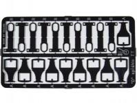 """Detail 50 kovový lept """"D"""" spřáhlo TT"""