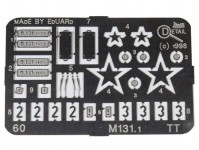Detail 60 doplňky M131.1133, M131.1405 TT