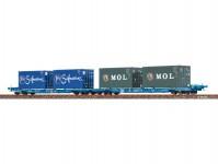 Brawa 48104 kontejnerový vůz Sffggmrrss DB