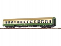 Brawa 50585 osobní vůz 2.třídy Bmhe zelený / krémový / hnědá střecha DR