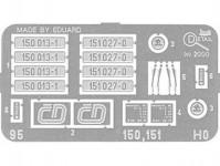 Detail 95 doplňky 150 007-3, 151 020-5 H0