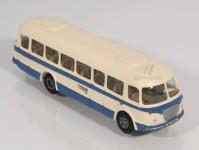 RA Došlý 100410 Škoda 706 RTO modrý/bílý, pruh, 2x1-dílné dveře H0