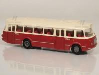RA Došlý 101100 Škoda 706 RTO červený/bílý, 2x2-dílné dveře H0