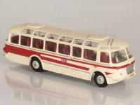 Škoda 706 RTO LUX červený/bílý, pruh, 1x1-dílné dveře