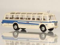 Škoda 706 RTO LUX modrý/bílý, pruh, 1x1-dílné dveře