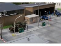 Faller 144105 čerpací stanice pro vojenské automobily