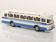 RA Došlý 102301 Karosa ŠD 11 modrý/šedý, pruh, 2x1dílné dveře H0