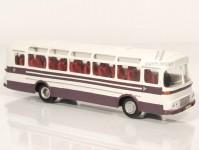 RA Došlý 102305 Karosa ŠD 11 fialový/šedý, pruh, 2x1dílné dveře H0