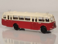 RA Došlý 103110 Škoda 706 RO červený/bílý, 2x2-dílné dveře H0