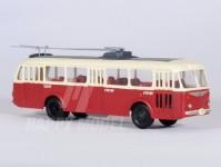 RA Došlý 120500 Škoda Tr8 červený/bílý, 3x4-dílné dveře H0