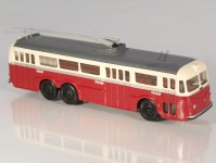 RA Došlý 120603 Tatra T400 červený/bílý, 1x2+2x4-dílné dveře H0