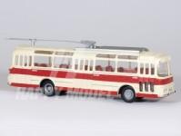 RA Došlý 120801 Škoda Tr11 červený/bílý, 1x3+2x4-dílné dveře, odporníky H0