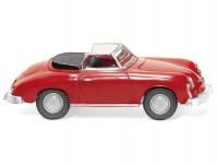 Wiking 16003 Porsche 356 Cabrio červené