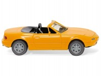 Wiking 18806 Mazda MX5 žlutá