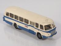 RA Došlý 200001 Škoda 706 RTO modrý/bílý, pruh, 1x4-dílné dveře TT