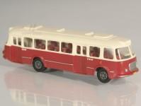 RA Došlý 200102 Škoda 706 RTO červený/bílý, 2x2-dílné dveře TT