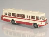 RA Došlý 200103 Škoda 706 RTO červený/bílý, pruh, 2x2-dílné dveře TT