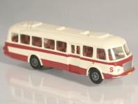 RA Došlý 200303 Škoda 706 RTO červený/bílý, pruh, 1x2-dílné dveře TT