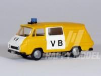 RA Došlý 550601 Škoda 1203 VB žlutá H0