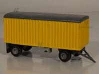 RA Došlý 901400 přívěs stěhovací žlutý ČSAD H0