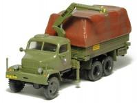 SDV 87108 Praga V3S vojenský valník s hydraulickou rukou