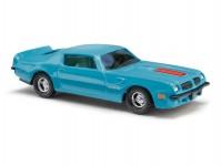 Busch 41713 Pontiac TransAm tyrkysový