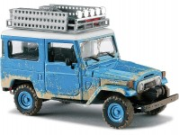 Busch 43023 Toyota Land Cruiser J4 modrá