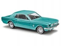 Busch 47562 Ford Mustang coupé tyrkysová metalíza