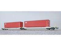 ESU 36544 kapsový vůz Sdggmrs NL-AAEC s kontejnery APHU 689909 + APHU 690465