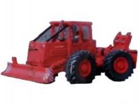 ICAR 87072k lesní traktor LKT 81 Turbo stavebnice H0