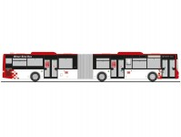 Rietze 72795 MAN Lions City G15 Weser-Ems-Bus