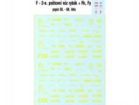 Obtisky Jiran t0213 obtisk na 2-osý poštovní vůz F Rybák / Fk / Fy (50. - 60. léta) TT