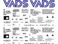 Obtisky Jiran t0532 obtisk na 4-osý kotlový vůz Zas VADS Nový Bohumín 90.léta TT
