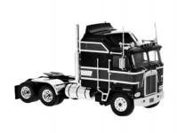 Brekina 85726 Kenworth K 100 Aerodyne černý/červený 1976
