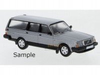 Brekina PCX870011 Volvo 240 GL kombi stříbrná metalíza