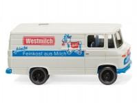 Wiking 27058 MB L 406 skříň  Westmilch