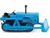 Wiking 84436 Hanomag K55 buldozer s radlicí modrý