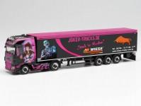 Herpa 313674 DAF XF SSC s návěsem Joker Trucks / Trucker-Babe Tamara