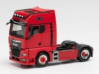 Herpa 313711 MAN TGX GX  Individual Lion S tahač červený
