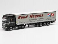 Herpa 313872 DAF XF SSC návěs s plachtou  Ruud Haagens