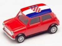 Herpa 420662 Mini Cooper ME 2021 Chorvatsko