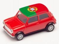 Herpa 420709 Mini Cooper ME 2021 Portugalsko