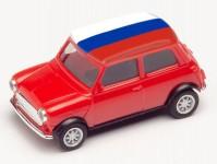 Herpa 420716 Mini Cooper ME 2021 Rusko