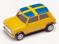 Herpa 420723 Mini Cooper ME 2021 Švédsko
