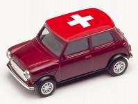 Herpa 420730 Mini Cooper ME 2021 Švýcarsko