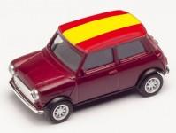 Herpa 420747 Mini Cooper ME 2021 Španělsko
