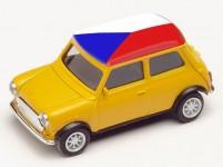 Herpa 420754 Mini Cooper ME 2021 Česká republika