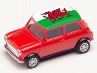 Herpa 420785 Mini Cooper ME 2021 Wales
