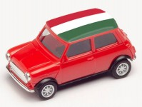 Herpa 420822 Mini Cooper ME 2021 Maďarsko